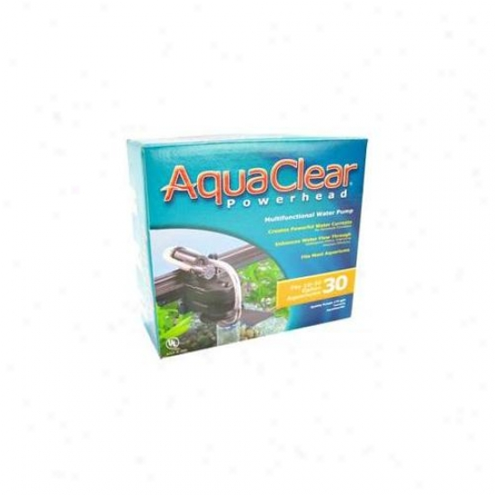 Rc Hagen A586 Aquaclear 30 Powerhead, 175 Gph, Ul Listed
