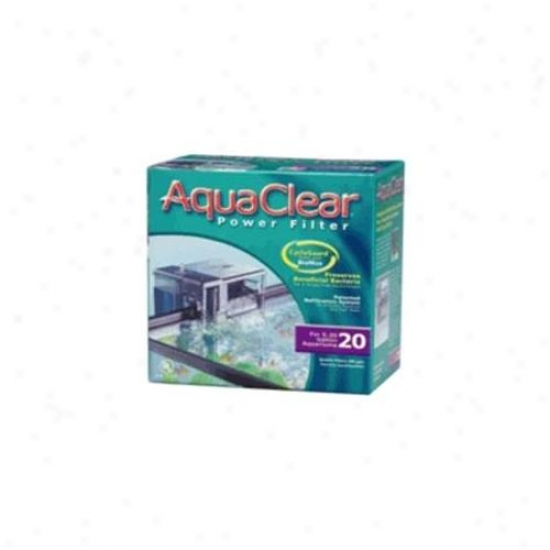 Rc Hagen A595 Aquaclear 20 Power Filter, Ul Listed - Inc.  A597, A598 & A1470