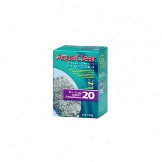 Rc Hagen A599 Aquaclear 20 Zeo Carb Aquarium Filter Insert