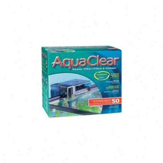 Rc Hagen A610 Aquaclear 50 Power Filter, Ul Listed - Inc.  A612, A613 & A1372