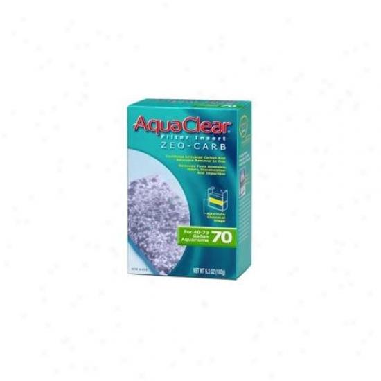 Rc Hagen A619 Aquaclear 70 Zeo Carb Aquarium Filter Insert