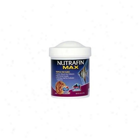 Rc Hagen A6700 Nuyrafin Max Tropical Fish Flakes . 67 Oz