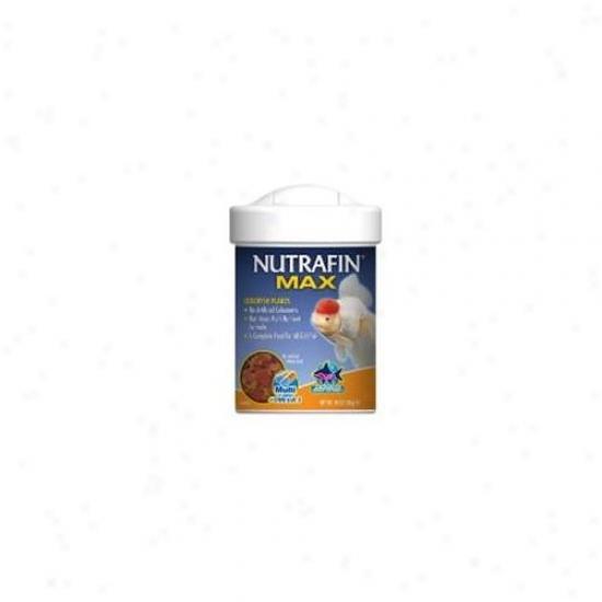 Rc Hagen A6830 Nutrafin Max Goldfish Flakes . 67 Oz