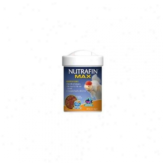 Rc Hagen A6848 Nutrafin Max Goldfish Large Flakes 2. 65 Oz