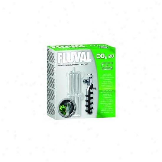 Rc Hagen A7540 Fluval Mini Co2 Supply Set 0. 7 Oz