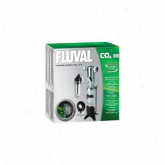 Rc Hagen A7545 Fluval Co2 Supply Set 3. 1 Oz
