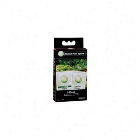 Rc Hagen A7695 Co2 Natural Plant System Activator & Stabilizer Refill Pack - 3-pack