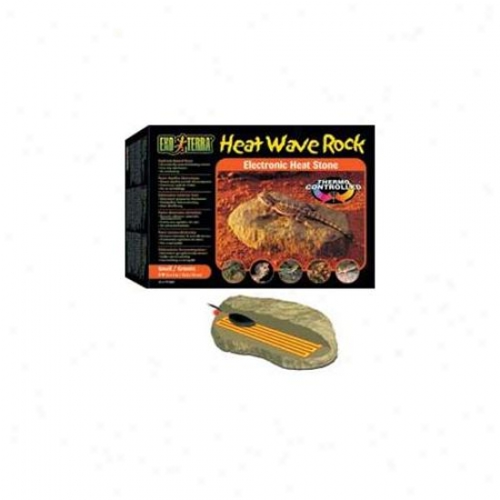 Rc Hagen Pt2000 Exo Terra Heatwave Rock, Small, Ul