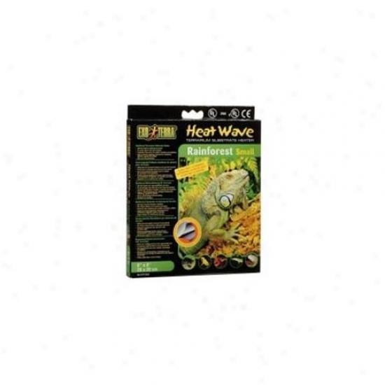 Rc Hagen Pt2022 Exo Terra Heatwave Rainforest, 4w, 110v, 8 Inch X 8 Inch