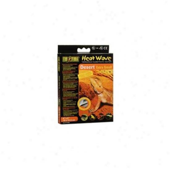 Rc Hagen Pt2028 Exo Terra Hratwave Desert, 4w, 110v, 4 Inch X 5 Inch