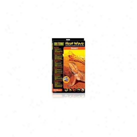 Rc Hagen Pt2040 Exo Terra Heatwave Desert, 25w, 110v, 11 Inch X 17 Inch