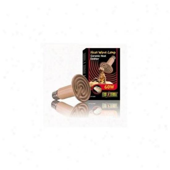 Rc Hagen Pt2045 Exo Terra Ceramic Heater, 60w, 110v