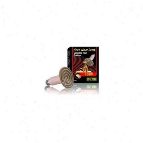 Rc Hagen Pt2046 Exo Terra Ceramic Heater, 100w, 120v