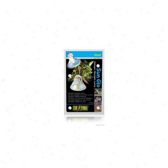 Rc Hagen Pt2180 Exo Terra Sun-glo Daylight Halogen Lamp, 35w