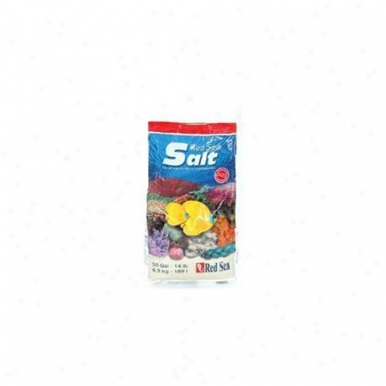 Red Sea Fish Pharm Ltd.  Are11050 Coral Reef Red Wave Salt 50 Gal - 3 Piecess