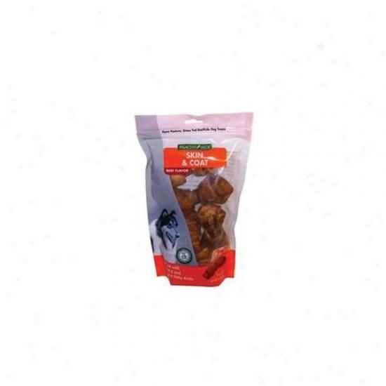 Salix 073011 4 Inch Skin And Coat Bone Beef - 5 Pack