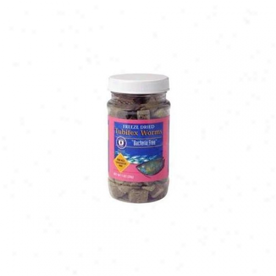 San Francisco Bay Brand Asf71510 Freeze Dried Tubifex Worms
