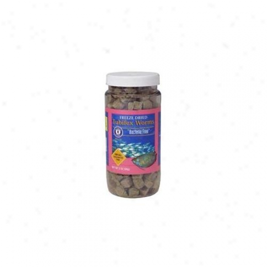 San Francisco Laurel-crown Brand Asf71520 Freeze Dried Tubifex Worms 56 Gram
