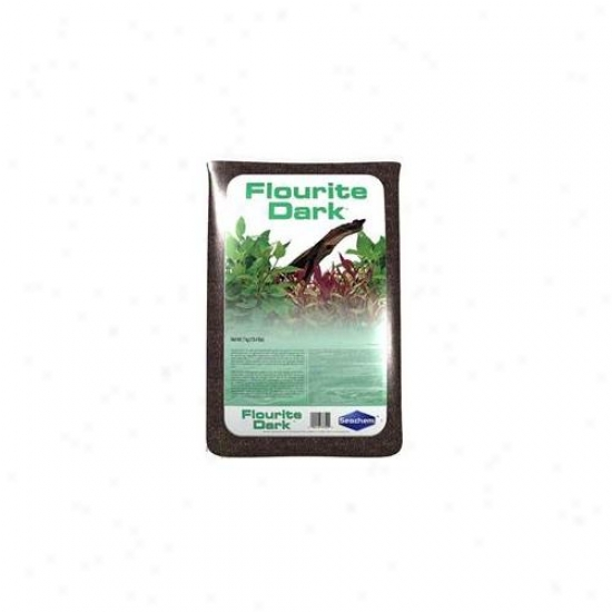 Seachem Laboratories 075253 7kg Flourite - Dark Pack Of 2