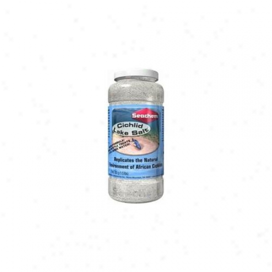 Seachem Laboratories Asm273 Cichlid Lake Salt 450 Gram
