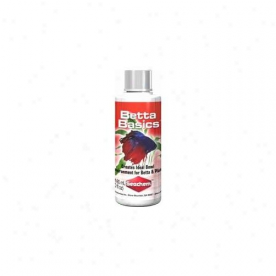 Seachem Laboratories Asm424 Betta Basics