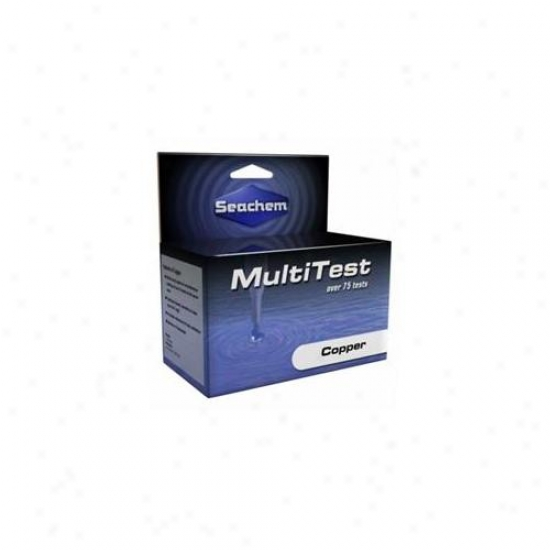 Seachem Laboratories Asm966 Multitest Copper Test Kit