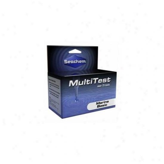 Seachem Laboratories Asm992 Multitest Reef Special Master Test Kit