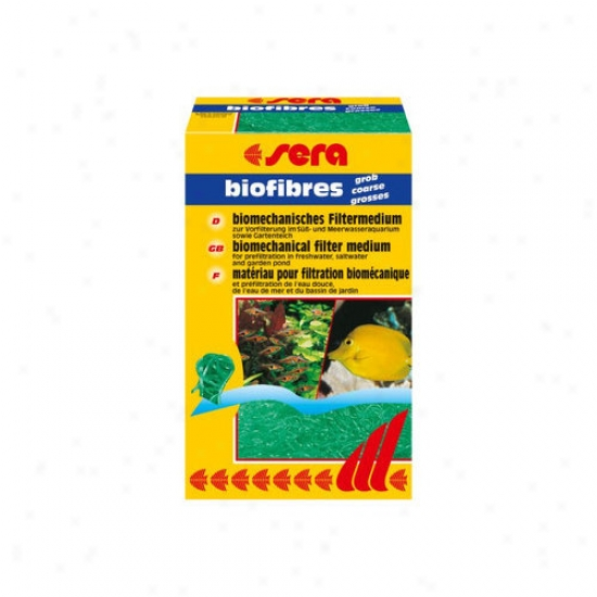 Sera Usa Biofibres Coarse Aquarium Pond Filteer Media