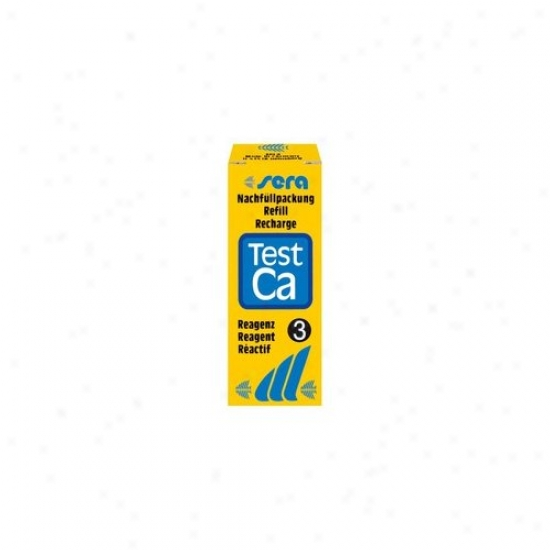 Sera Usa Ca Reagent Water Test - 3 Refill Pack / 15ml