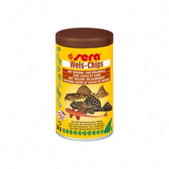 Sera Usa Horn-pout Chips Fish Foo d- 500ml