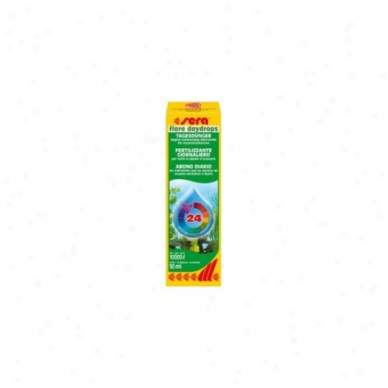 Sera Usa Flore Daydrops Daily Fertilizer - 50ml