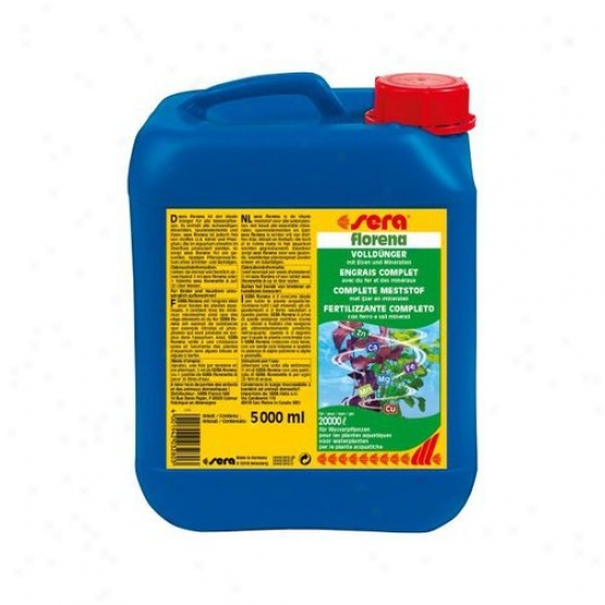 Sera Usa Florena Plant Fertilizer - 5000ml