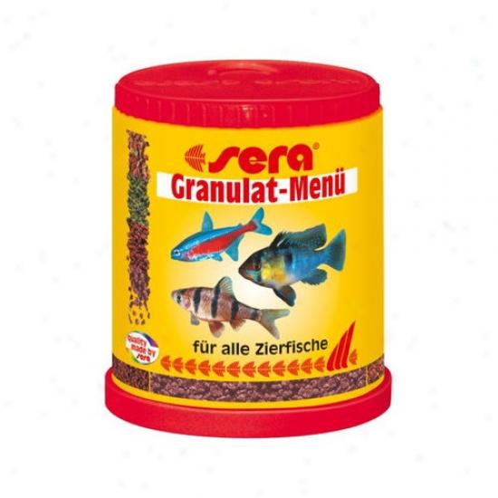 Sera Usa Granulate Menu Fish Food - 150ml