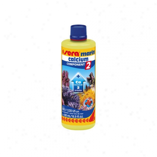 Sera Usa Marine Component 2 Ca Ph-buffer Saltwater Conditioning And Maintenance