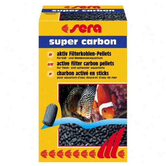 Sera Usa Super Carbon Aquarium Filter Media