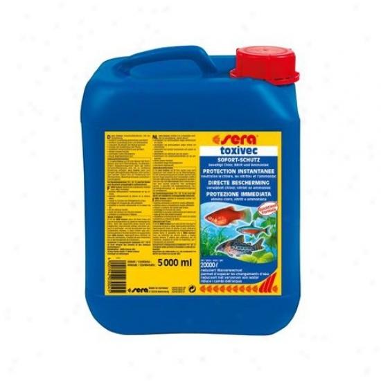 Sera Usa Toxivec  Water Conditioner -  5000ml