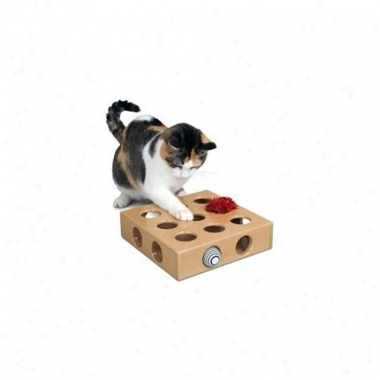 Smart Cat 3841 Peek And Play Tky Box With 2 Toys - Suit Of 3
