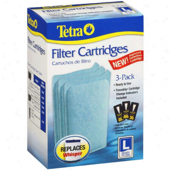 Tetra 26320 3 Count Large Replacement Filter Cartridges