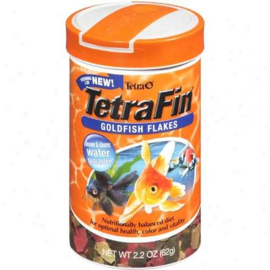 Tetra 77127 Tetrafin Goldfish Flakes - 2.2 Oz.