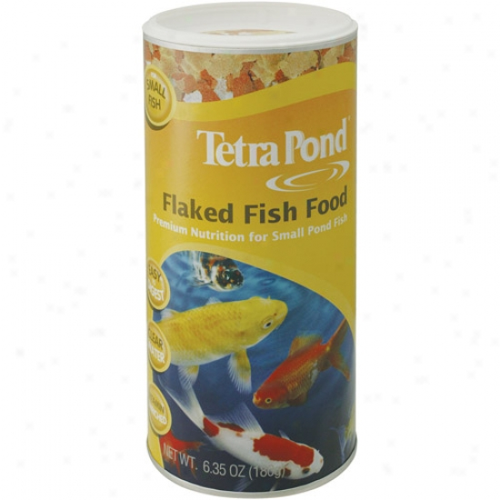 Tetra Pond Flaked Fish Feed 3 8 Pounds - 16210