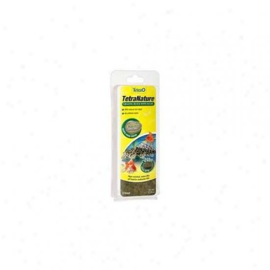 Tetra Second Nature 77264 Tetranature Grazing Block Algae Gel Food
