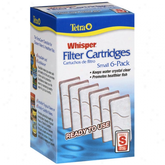 Tetra Whispe Small Filter Cartridges, 6ct