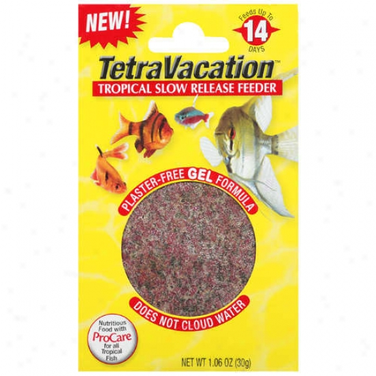Tetravacation Tropical Slow Release Feeder, 30g