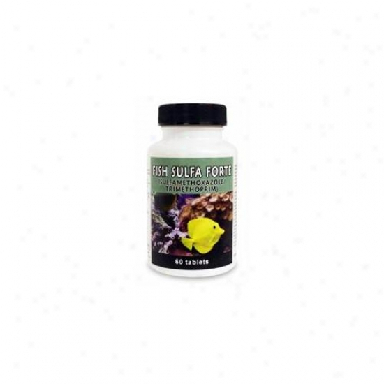 Thomas Labs 001tlfs-60 Fish Sulfa Forte, 60 Tablets