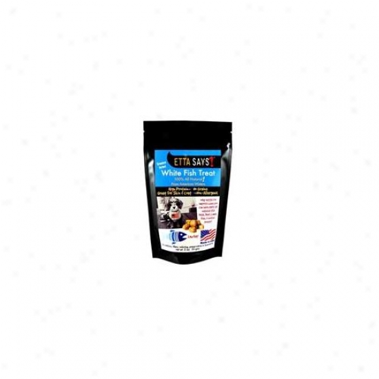 Top Dog Treatsand Chews Fdmfish2 Etta Says Freeze Dried White Splice Treat 2. 0oz