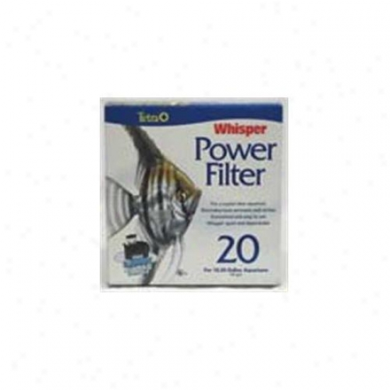 United Pet Group Tetra 25772 Whisper Power Filter 20 10-20 Gallon