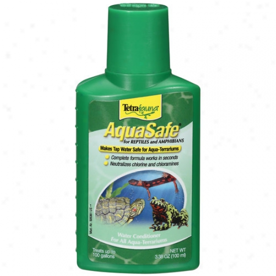 United Pet Group Tetra 77009 Aquasafe Because Reptiles 100 Milliliter