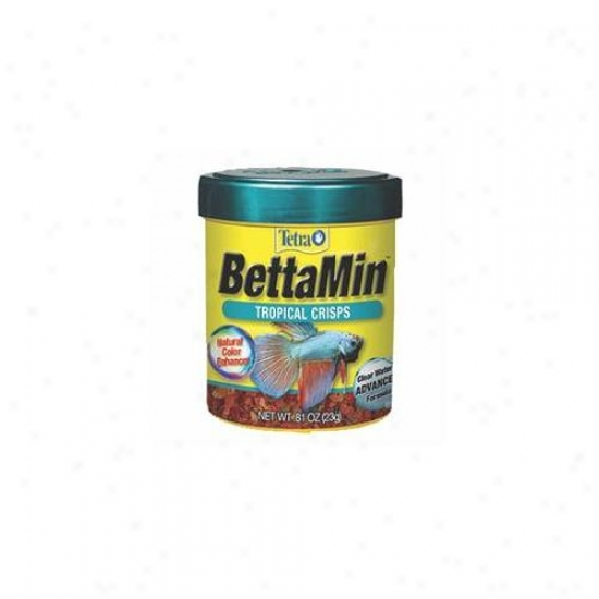 United Pet Group Tetra - Bettamin Crisps . 81 Ounce - 77022