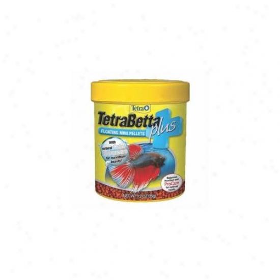 United Pet Group Tetra - Tetrabetta Plus Mini Pellets 1. 2 Ounce - 77256