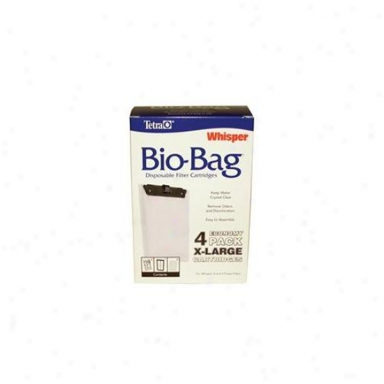 United Pet Group Tetra - Whisper Bio Bag Cartridge X-large-4 Pack - 26167